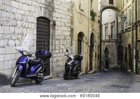 Italian Motor Scooter