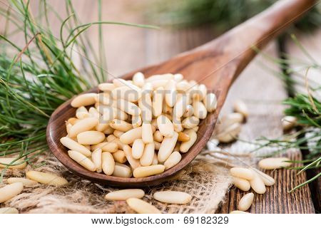 Small Portion Of Pine Nuts