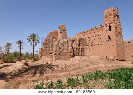 Kasbah - old fort in Morocco