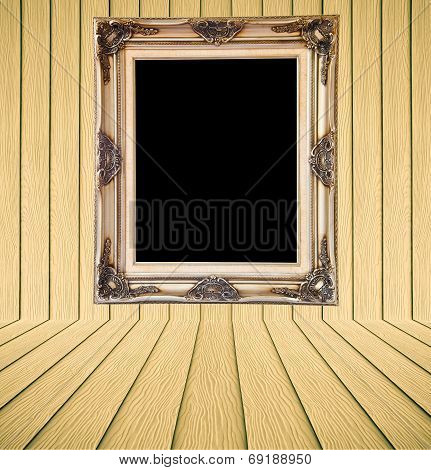 Yellow Wood Texture Background