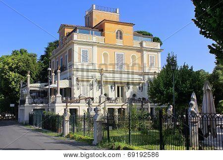 Restaurant Casina Valadier, Villa Borghese, Rome