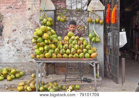 Sales Of Coconuts