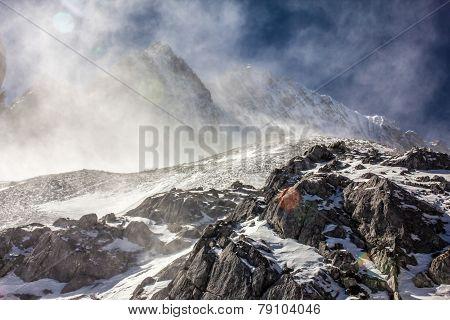 Snow Swept Peak