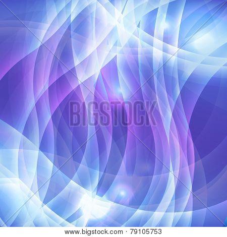 Soft light purple effect wave background