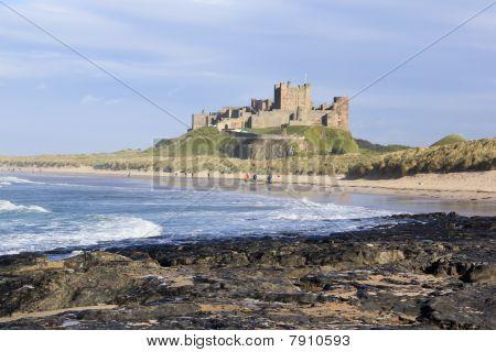 Castillo de Bamburgh Northumberland Costa