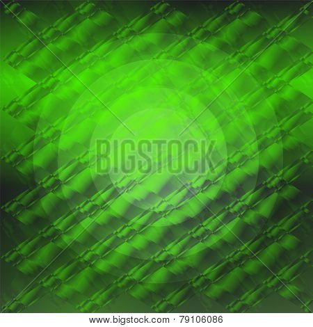 Green circle gradient plaid texture