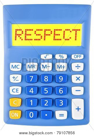 Calculator With Respect