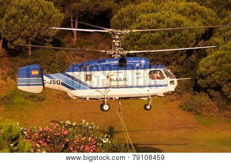 Kamov Ka-32A11BC Helicopter.