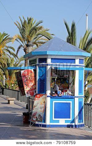 Snack kiosk, Marbella.