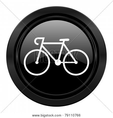 bicycle black icon bike sign