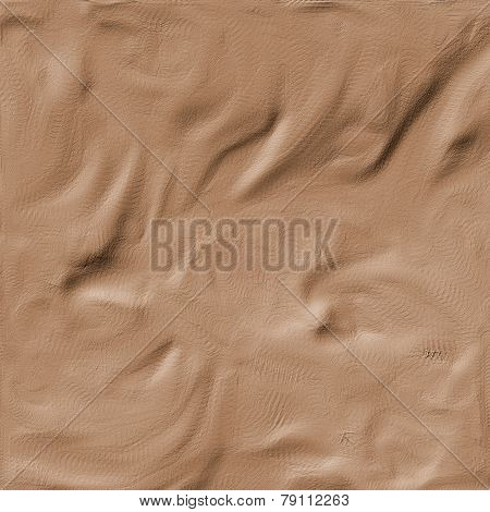 Illustration Of Sandstone Surface With Incisions