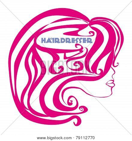 Hairdresser Salon Logo