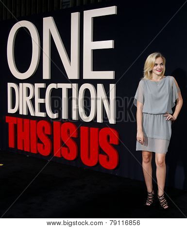 NEW YORK-AUG 26: Actress Madeline Brewer attends the New York premiere of 'One Direction: This Is Us' at the Ziegfeld Theater on August 26, 2013 in New York City.
