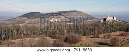 Panoramic view, landscape Palava, Czech Republic, Europe