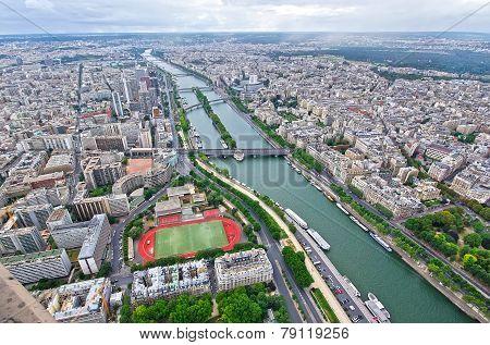 Paris, Aerial View