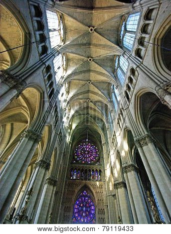 Interior View Of A Cathedral