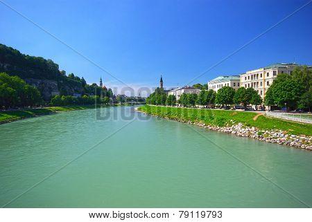 River In Salzburg