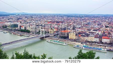Budapest Up View