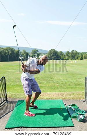 Driving Range Swing