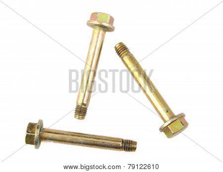 Three big golden screws