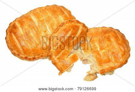Chicken and mushroom savoury slices