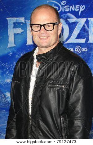 LOS ANGELES - NOV 19: Chris Bauer at the premiere of Walt Disney Animation Studios' 'Frozen' at the El Capitan Theater on November 19, 2013 in Los Angeles, CA
