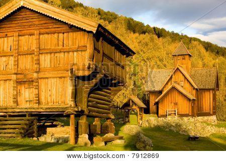 Uvdal Stavkirke Norway