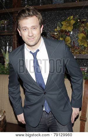LOS ANGELES - DEC11: Tom Lenk at Scott Nevins Presents SPARKLE: An All-Star Holiday Concert to benefit The Actors Fund at Rockwell Table & Stage on December 11, 2014 in Los Angeles, California