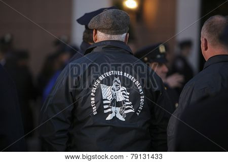 Boston PD Benevolent Assoc member