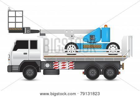 Boomliftandtruck