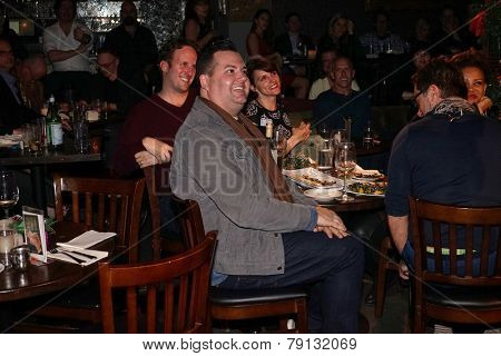 LOS ANGELES - DEC11: Ross Matthews at Scott Nevins Presents SPARKLE: An All-Star Holiday Concert to benefit The Actors Fund at Rockwell Table & Stage on December 11, 2014 in Los Angeles, California