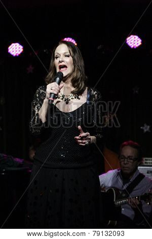 LOS ANGELES - DEC11: Peisha McPhee at Scott Nevins Presents SPARKLE: An All-Star Holiday Concert to benefit The Actors Fund at Rockwell Table & Stage on December 11, 2014 in Los Angeles, California