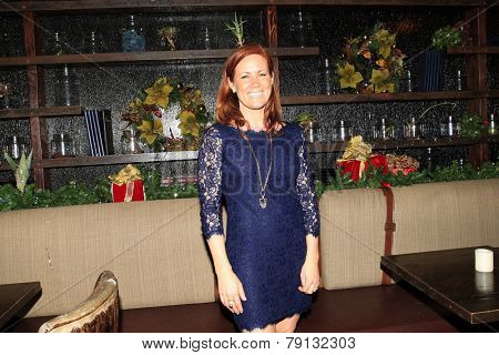 LOS ANGELES - DEC11: Elisa Donovan  at Scott Nevins Presents SPARKLE: An All-Star Holiday Concert to benefit The Actors Fund at Rockwell Table & Stage on December 11, 2014 in Los Angeles, California