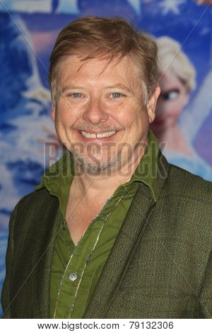 LOS ANGELES - NOV 19: Dave Foley at the premiere of Walt Disney Animation Studios' 'Frozen' at the El Capitan Theater on November 19, 2013 in Los Angeles, CA