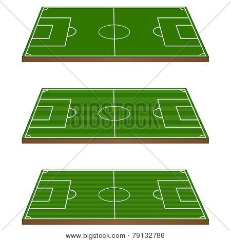 Football Fields 3D Perspective 1