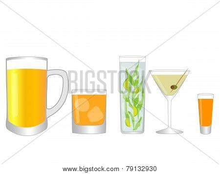 Isolated Drinks 1