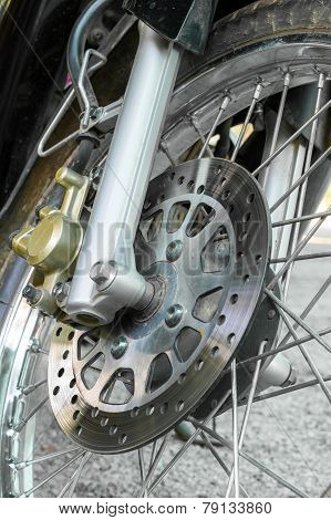 Disc Break Of Motorcycle