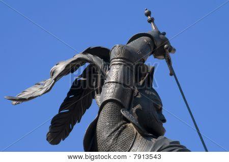 San Carlo's statue