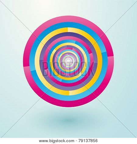Colorful Circles Revolves To Lost