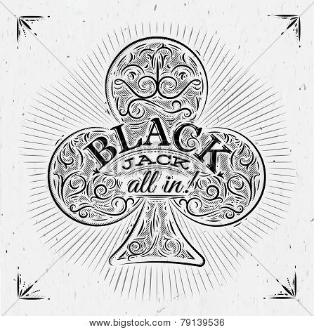 Clubs black jack