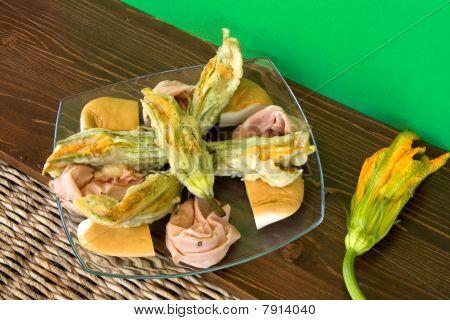 Italian Food Plate
