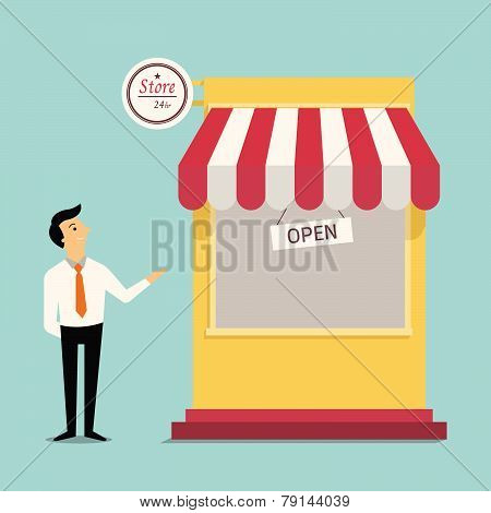 Welcome To New Store