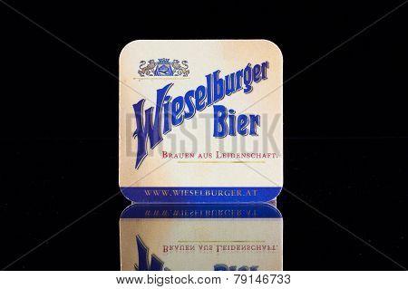 Beermats From Wieselburger Beer.