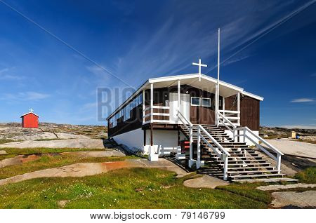 The Church (and School) Of Rodebay, Greenland