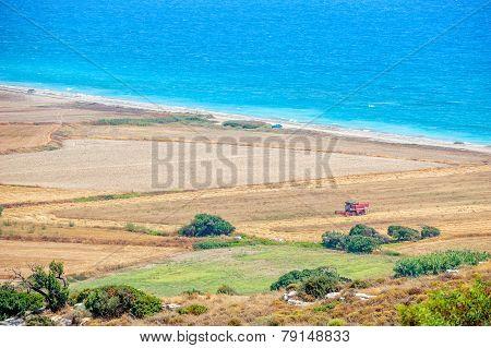 Rural Landscape On Cyprus