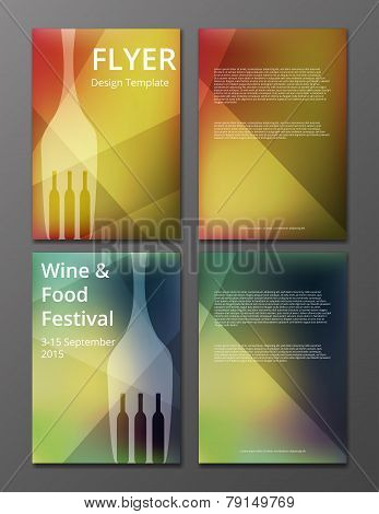 wine flyer cover