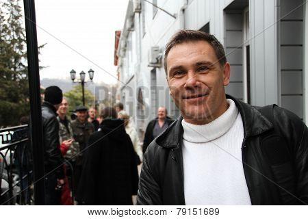 Ecologist Evgeny Vitishko