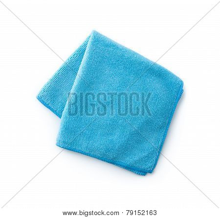 Blue Towel