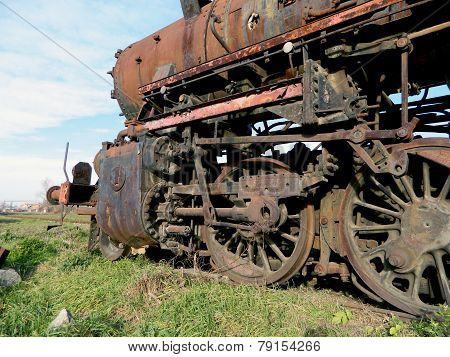 Old Steam Locomotive