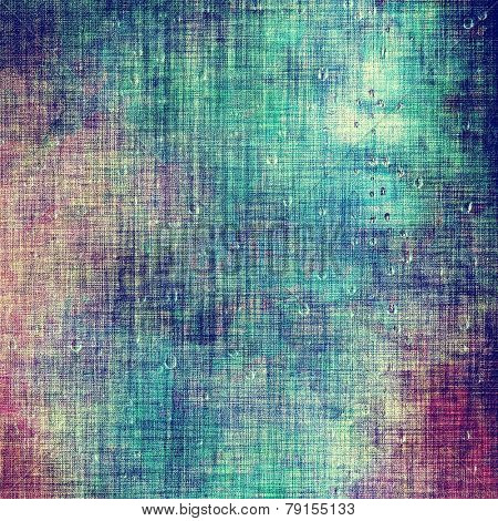 Vintage spotted textured background. With different color patterns: blue; cyan; green; purple (violet); pink